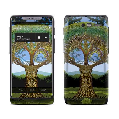 Motorola Razr M Skin - Celtic Tree
