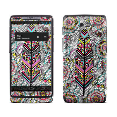 Motorola Razr M Skin - Dream Feather