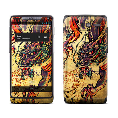 Motorola Razr M Skin - Dragon Legend