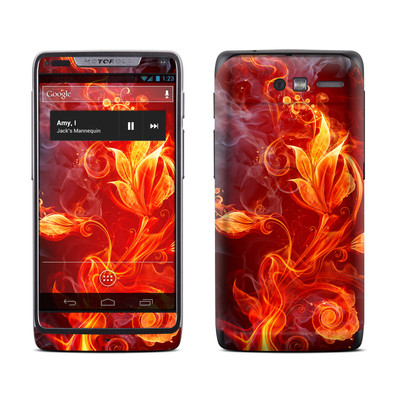 Motorola Razr M Skin - Flower Of Fire