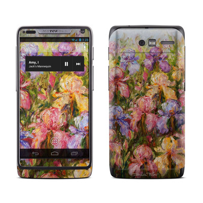 Motorola Razr M Skin - Field Of Irises