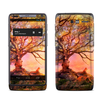 Motorola Razr M Skin - Fox Sunset