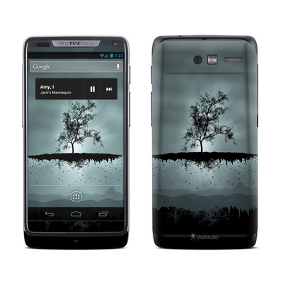 Motorola Razr M Skin - Flying Tree Black