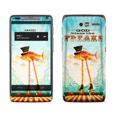 Motorola Razr M Skin - God Bless The Freaks