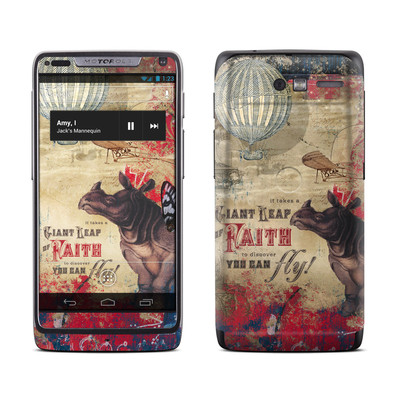 Motorola Razr M Skin - Leap Of Faith