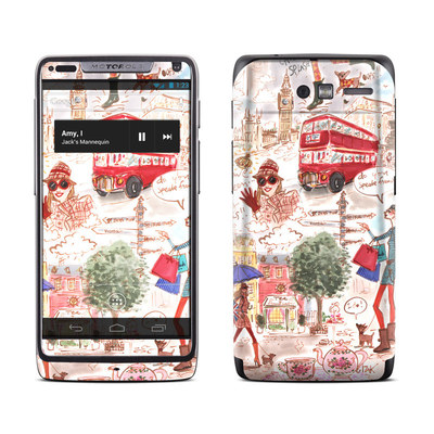 Motorola Razr M Skin - London