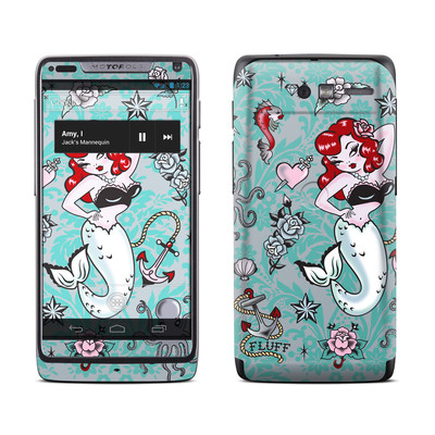 Motorola Razr M Skin - Molly Mermaid