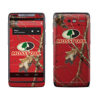Motorola Razr M Skin - Break-Up Lifestyles Red Oak