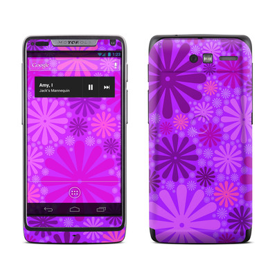 Motorola Razr M Skin - Purple Punch