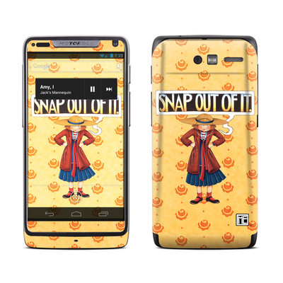 Motorola Razr M Skin - Snap Out Of It