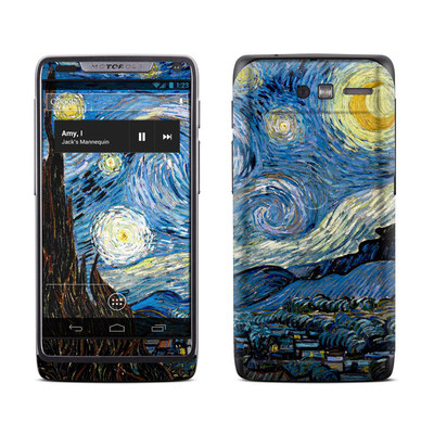 Motorola Razr M Skin - Starry Night