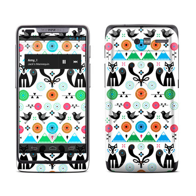 Motorola Razr M Skin - Winter Forest