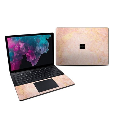 Microsoft Surface Laptop 3 13.5in Skin - Rose Gold Marble