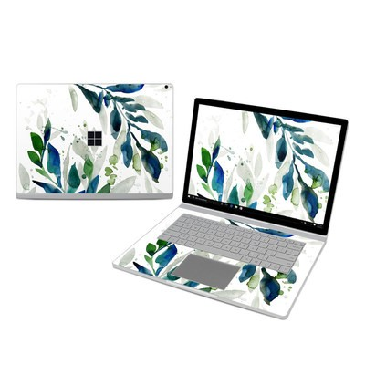 Microsoft Surface Book 3 15in (i7) Skin - Floating Leaves