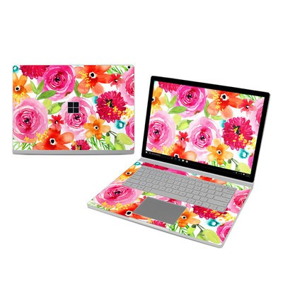 Microsoft Surface Book 3 15in (i7) Skin - Floral Pop