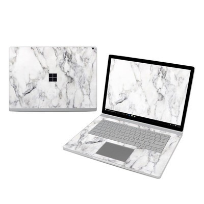 Microsoft Surface Book 3 15in (i7) Skin - White Marble