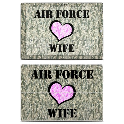 Microsoft Surface Pro 3 Skin - Air Force Wife
