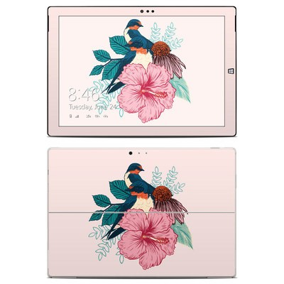Microsoft Surface Pro 3 Skin - Barn Swallows