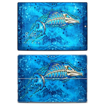 Microsoft Surface Pro 3 Skin - Barracuda Bones