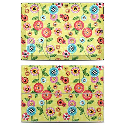 Microsoft Surface Pro 3 Skin - Button Flowers