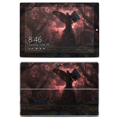 Microsoft Surface Pro 3 Skin - Black Angel