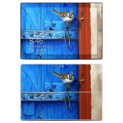 Microsoft Surface Pro 3 Skin - Blue Door