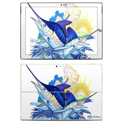Microsoft Surface Pro 3 Skin - Blue White and Yellow