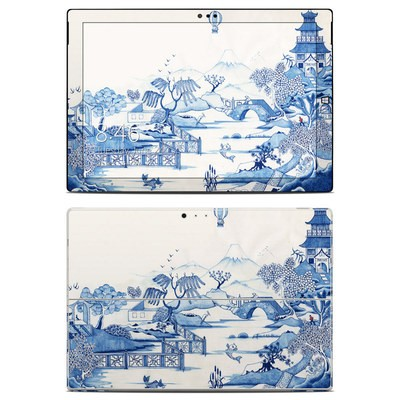 Microsoft Surface Pro 3 Skin - Blue Willow