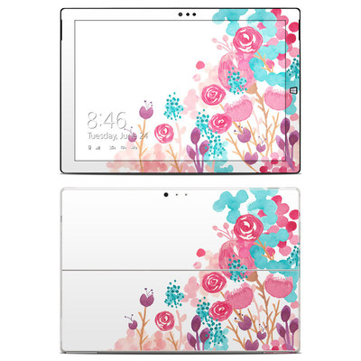 Microsoft Surface Pro 3 Skin - Blush Blossoms