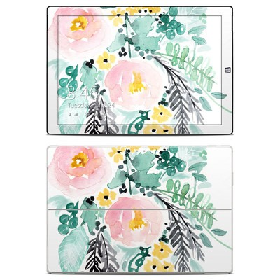 Microsoft Surface Pro 3 Skin - Blushed Flowers
