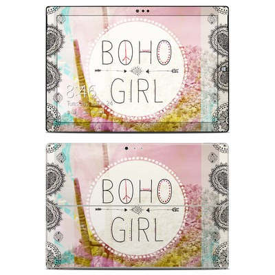 Microsoft Surface Pro 3 Skin - Boho Girl