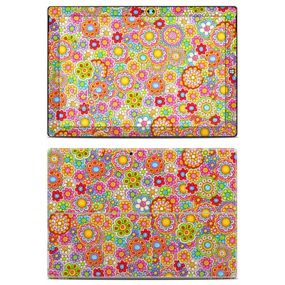 Microsoft Surface Pro 3 Skin - Bright Ditzy