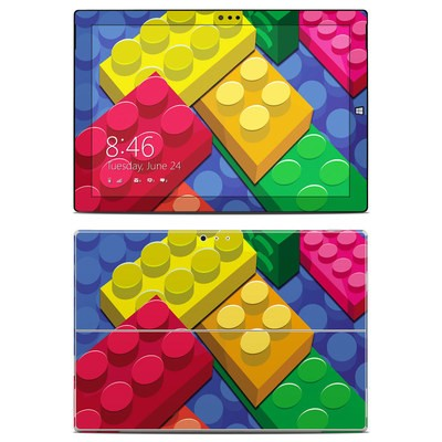 Microsoft Surface Pro 3 Skin - Bricks