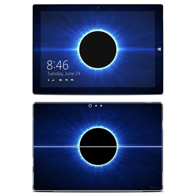 Microsoft Surface Pro 3 Skin - Blue Star Eclipse