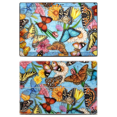 Microsoft Surface Pro 3 Skin - Butterfly Land