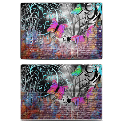 Microsoft Surface Pro 3 Skin - Butterfly Wall