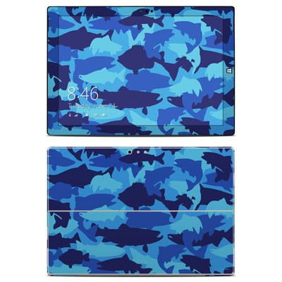 Microsoft Surface Pro 3 Skin - Camo Fish