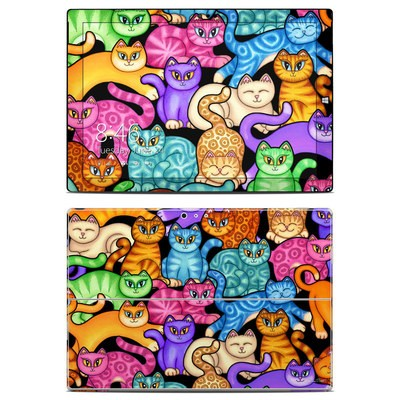 Microsoft Surface Pro 3 Skin - Colorful Kittens