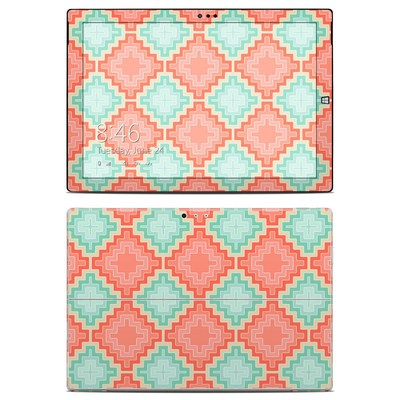 Microsoft Surface Pro 3 Skin - Coral Diamond
