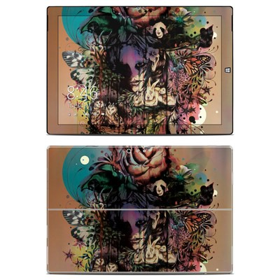 Microsoft Surface Pro 3 Skin - Doom and Bloom