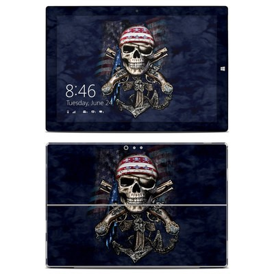 Microsoft Surface Pro 3 Skin - Dead Anchor