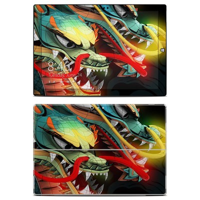 Microsoft Surface Pro 3 Skin - Dragons