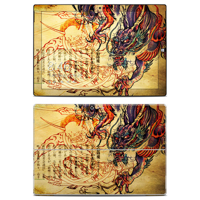 Microsoft Surface Pro 3 Skin - Dragon Legend