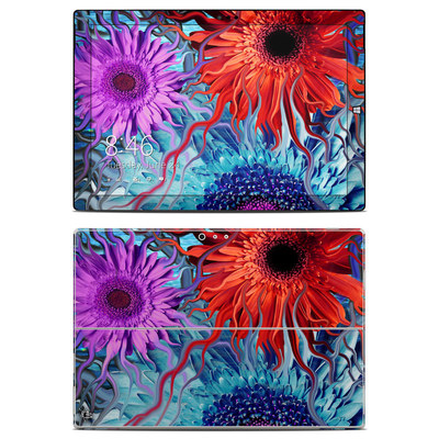 Microsoft Surface Pro 3 Skin - Deep Water Daisy Dance