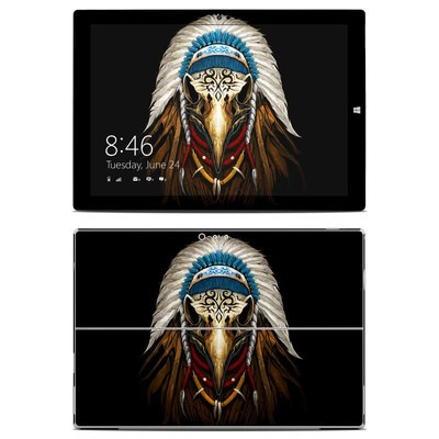 Microsoft Surface Pro 3 Skin - Eagle Skull
