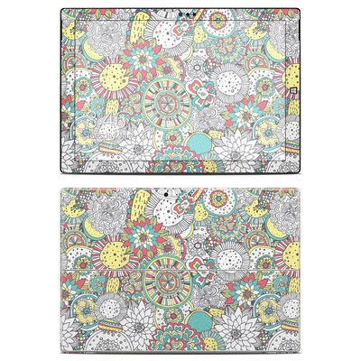 Microsoft Surface Pro 3 Skin - Faded Floral