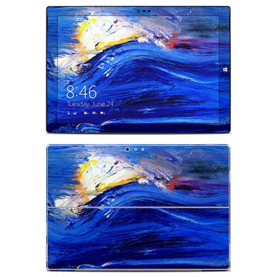 Microsoft Surface Pro 3 Skin - Feeling Blue