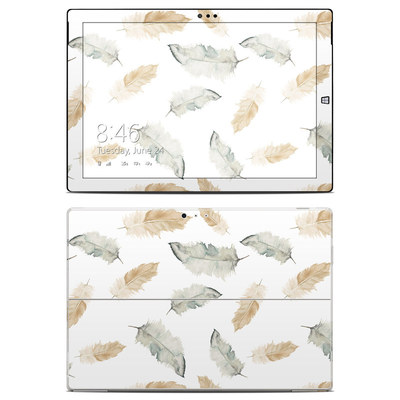 Microsoft Surface Pro 3 Skin - Feathers