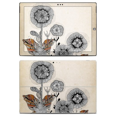 Microsoft Surface Pro 3 Skin - Four Flowers