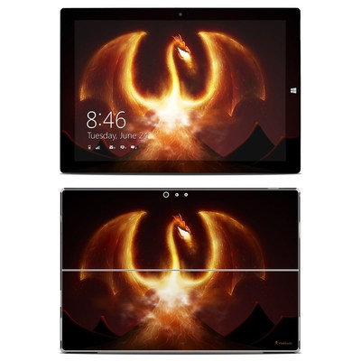 Microsoft Surface Pro 3 Skin - Fire Dragon